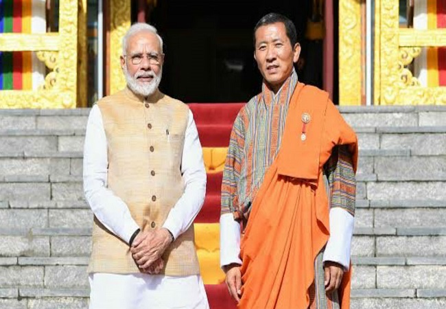 PM Modi dials Dr. Lotay Tshering, Prime Minister of Bhutan over covid-19 pandemic