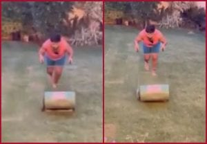 """Ye Dil Mange """"Mower"""": Rishabh Pant turns to mowing to stay active while indoors"""