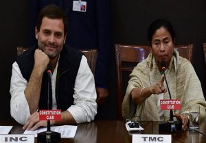 Happy to congratulate Mamata ji and the people of Bengal for soundly defeating the BJP, tweets Rahul Gandhi