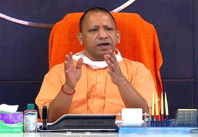 CM Yogi enquires about the well being of a forest guard, Anil Kumar; assures proper medical aid