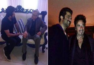 Anil Kapoor shares throwback pic with 'greatest actors' Robert De Niro, Al Pacino