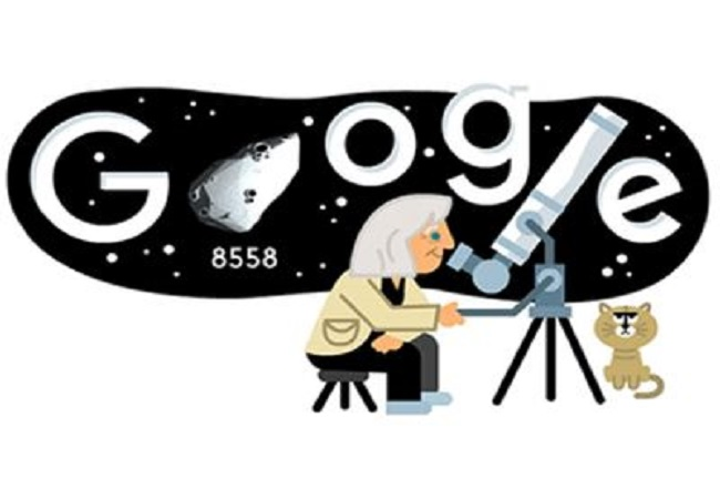 Google honoours Italian astrophysicist Margherita Hack's 99th birthday with a doodle
