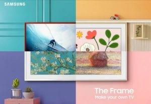 Samsung Frame TV 2021 is here! It's smarter, classier & innovative, 46% thinner than earlier model