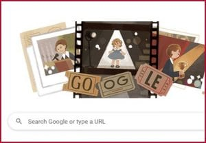 Shirley Temple: Google honours Hollywood icon with animated Doodle