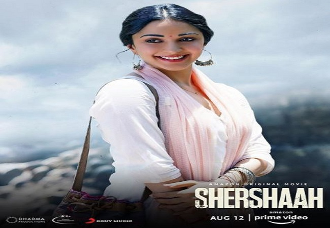 Kiara Advani shares new poster of 'Shershaah' to celebrate story of Dimple  Cheema's resilience