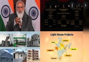 PM Modi reviews lighthouse projects across the country via drones