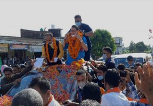 Uttarakhand CM Pushkar Singh Dhami visit home town, lays foundation of projects over Rs 100 crores