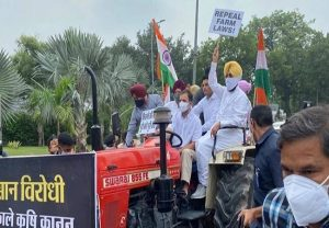 Rahul Gandhi drives tractor to Parliament, hilarious memes take over Twitter; netizens have a hearty laugh