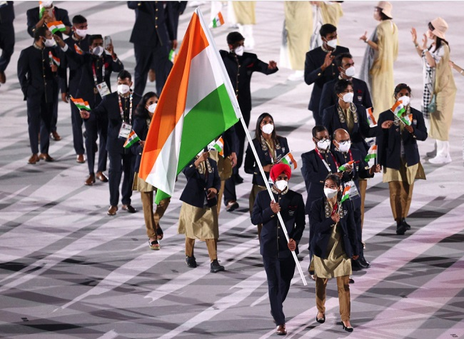 Tokyo Olympics Opening Ceremony: Mary Kom, Manpreet lead Indian contingent in Parade of Nations