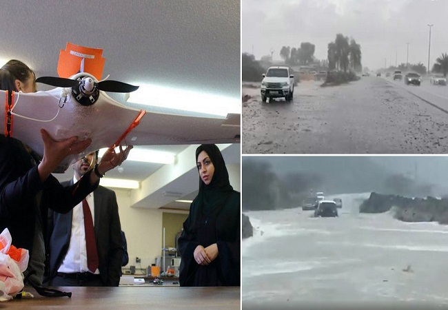 Drones for FAKE rains: Dubai's unique way to beat the heat…. WATCH