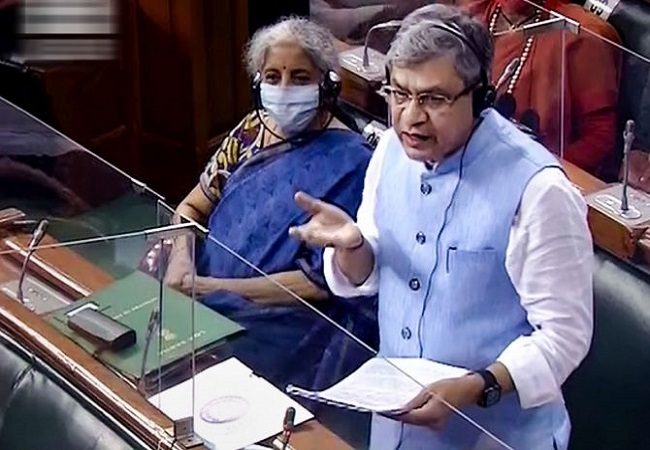 TMC MP snatches IT minister's statement on Pegasus, tears it; heated exchange follow