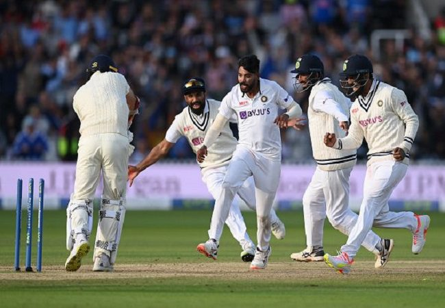 Watch: Winning moment when Siraj dismissed James Anderson at Lord's