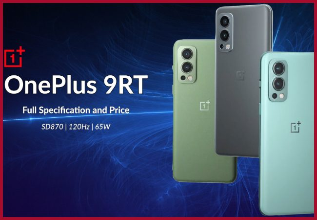 OnePlus 9RT expected to launch on October 15