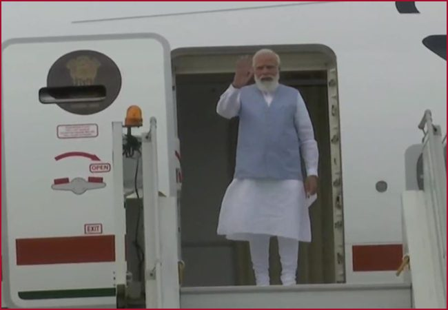 PM Modi returns to New Delhi after concluding three-day visit to US