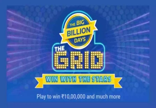 Flipkart the Grid Quiz answer 26 September; Play and win crazy rewards