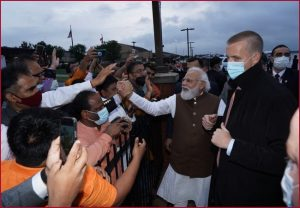 'Our diaspora is our strength' says PM Modi on warm welcome in Washington