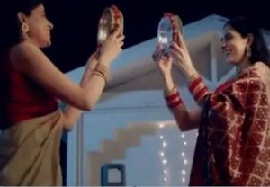 Dabur features same-sex couple in its new Karva Chauth ad, creates uproar on Twitter