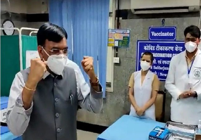 100 crore Covid vaccination soon, Health Minister to launch song to celebrate new milestone