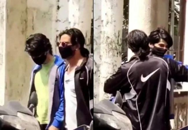 Fact Check: Did SRK meet son Aryan Khan outside NCB court? VIDEO shows duo hugging each other