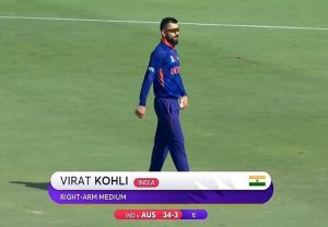 Watch: Virat Kohli becomes India's 6th bowler under Rohit's captaincy
