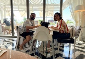 Virat Kohli shares pic from brunch date with Anushka and daughter Vamika